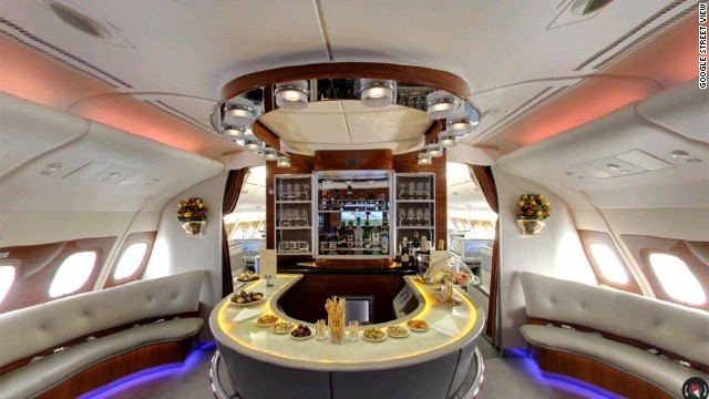 Google goes inside the Airbus A380