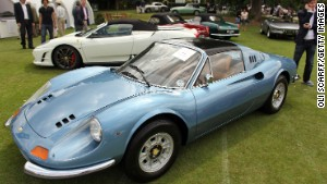 Ferrari Dino - four wheels or \