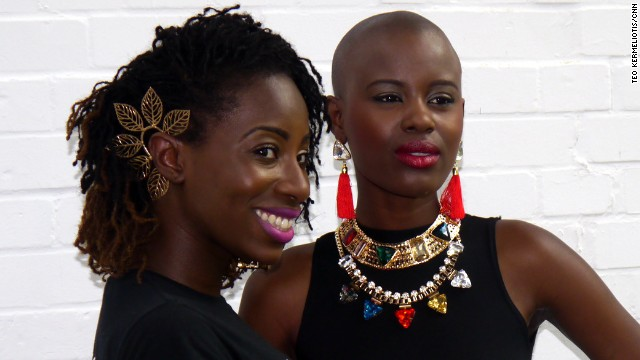 Looking ahead, Ademiluyi says the goal is to hold the event twice a year and also establish a distribution outlet to promote Africa-inspired designers. <i>Rya-V Jewellery. </i>