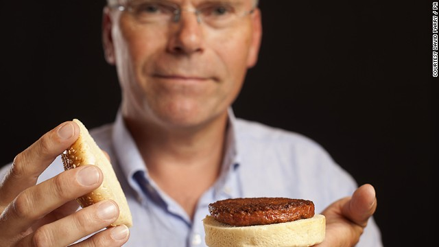 "The scientist behind the ""Cultured Beef"" project, Mark Post, hopes that laboratory-grown meat could provide a solution to increasing global demand for meat and protein. According to the World Health Organization (WHO), demand for meat is going to double during the next 40 years and current production methods are not sustainable."