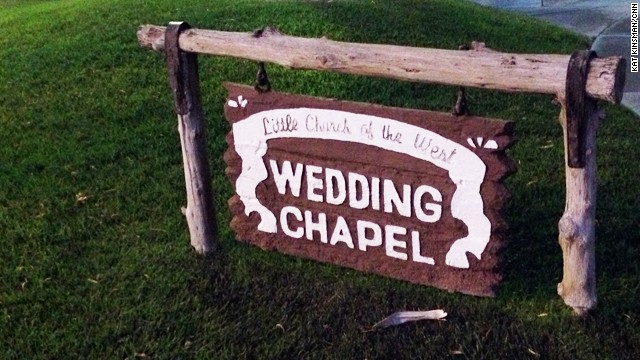 "If the chapel rings a bell, it might be because you've seen Elvis Presley and Ann-Margret recite their vows there in the movie ""Viva Las Vegas."""