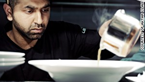 Award-winning British Bangladeshi chef Aktar Islam from Birmigham, UK.