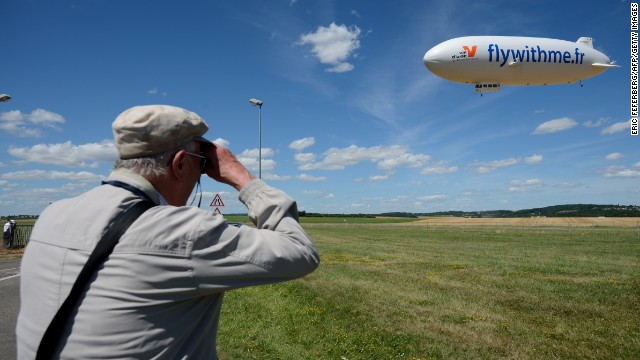 Commercial airships have been absent in France for three decades.