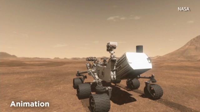 Cinco cosas que aprendimos del primer año del Curiosity en Marte