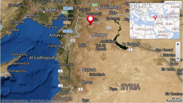 Rebeldes sirios toman el control de una base militar aérea en la ciudad de Aleppo