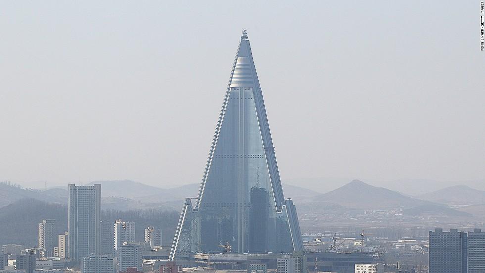 Hotel Ryugyong, Pyongyang, Corea del Norte