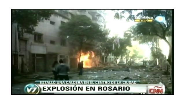 Aumentan a 12 los muertos por explosión en edificio de Rosario, Argentina