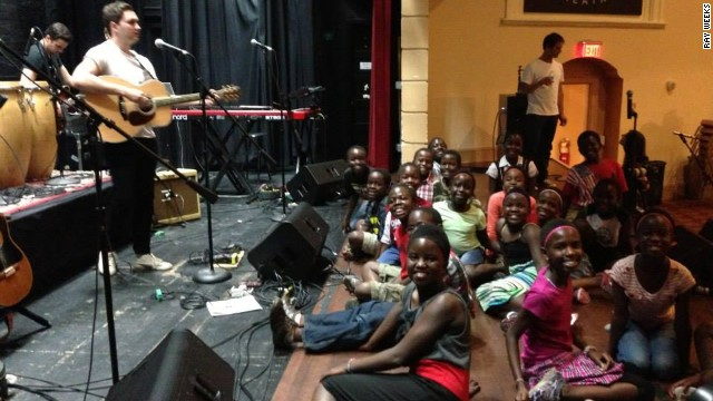 More than 1,000 children from Uganda, South Africa, Kenya, Rwanda, Ghana and Nigeria have been helped by the choir program since it began nearly 30 years ago.