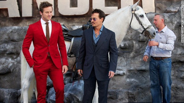 'Lone Ranger' team: Critics killed our box office