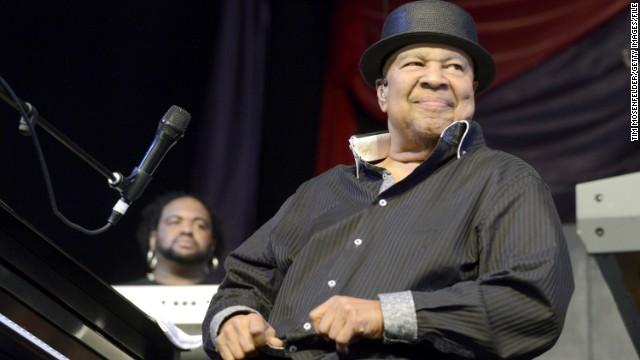 George Duke, seen here at the 2013 New Orleans Jazz & Heritage Festival in May, died in August at the age of 67. The legend was known for his phenomenal skills as a keyboardist, and his ability to bridge together jazz, rock, funk and R&B.