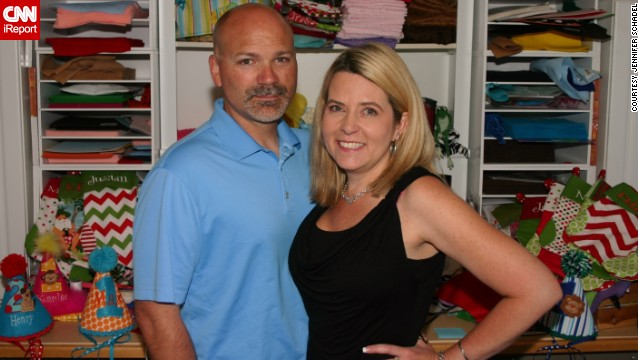 After being laid off from their construction jobs, <a href='http://ireport.cnn.com/docs/DOC-1006727'>Heather and Mike von Quilich</a> found inspiration through Etsy and Heather's love of crafting.