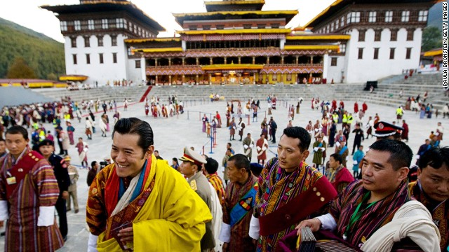 "3. Thimpu, Bhutan Score: 93.7 It's hard to score low when your king has such a charming smile and there's a national policy in place to promote ""gross national happiness."""