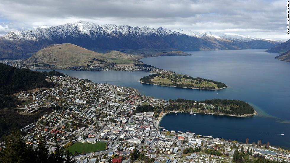 4. Queenstown (Nueva Zelanda)