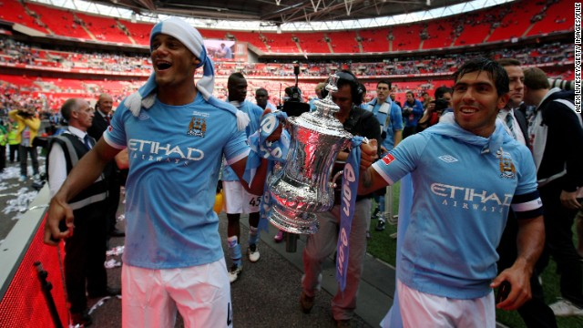 Kompany was consistently excellent for the Abu Dhabi-owned club and was one of the team's standout performers as they beat Stoke City 1-0 to win the FA Cup in 2011.