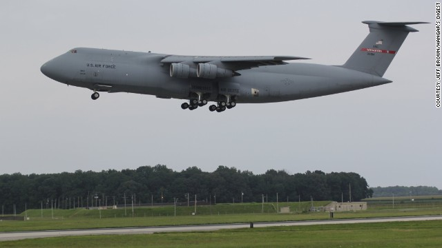 On August 7, 2013, Zero-One-Four made its final flight -- landing at Delaware's Dover Air Force Base, where it began its career. After Zero-One-Four is dedicated at a ceremony at Dover's Air Mobility Command Museum this fall, the facility will be the world's only museum with a C-5 Galaxy.
