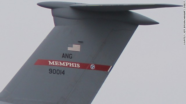Zero-One-Four's nickname comes from the number on its tail: 90014. It arrived at Dover from <a href='http://www.164aw.ang.af.mil'>Memphis Air National Guard Base</a>, its most recent station.