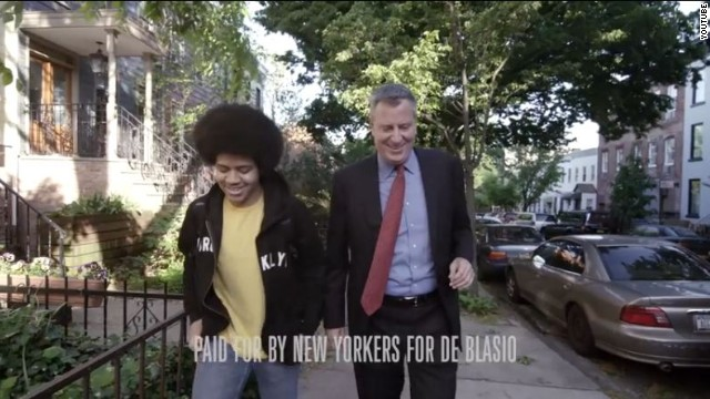 NYC mayoral candidate features interracial family in ad