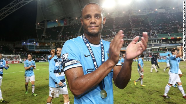 Vincent Kompany\'s rise to the top