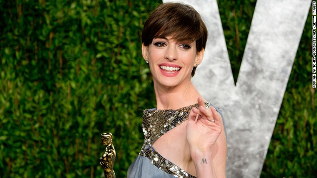 "Lopping off her hair for 2012's ""Les Miserables"" <a href='http://stylenews.peoplestylewatch.com/2012/07/13/anne-hathaway-haircut-les-miserables/' target='_blank'>made Anne Hathaway cry</a>, as she told Kelly Ripa last year, but she now seems to be loving it. After all, she won an Oscar with that short cut."