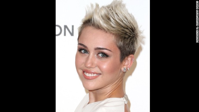 Miley Cyrus' haircut was the snip heard around the world. Although the star eased into the shorter look with a neat bob, <a href='http://marquee.blogs.cnn.com/2012/08/13/miley-cyrus-cuts-her-hair-and-gets-a-new-gig/?iref=allsearch'>her shorter, more daring cut left fans stunned</a>.