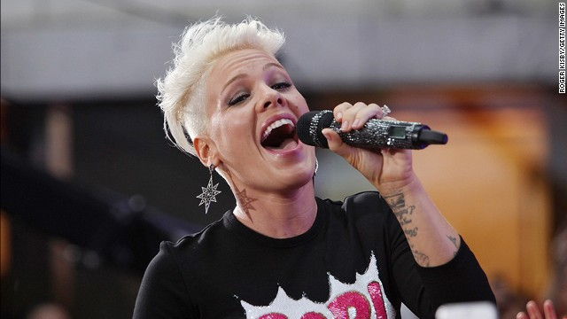 Pink comes off as pretty fearless in general, and that also applies to her hair. The singer <a href='http://www.eonline.com/news/428200/pink-shaves-off-hair-check-out-the-punk-inspired-cut-here' target='_blank'>has never been afraid to change her cut</a> -- <a href='https://twitter.com/Pink/status/46651424393805824' target='_blank'>or admit when she hates it</a> -- and that brazen confidence can be inspiring. At the 2012 MTV Video Music Awards, <a href='http://marquee.blogs.cnn.com/2012/09/07/twinsies-pink-and-miley-cyrus-sport-the-same-cut/?iref=allsearch'>Miley Cyrus clearly took her style guidance from her fellow star.</a>