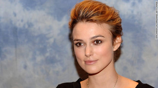 "Keira Knightley's has grazed past her shoulders, but in 2004 she chopped it off into a pixie for the movie <a href='http://www.imdb.com/title/tt0421054/' target='_blank'>""Domino.""</a>"