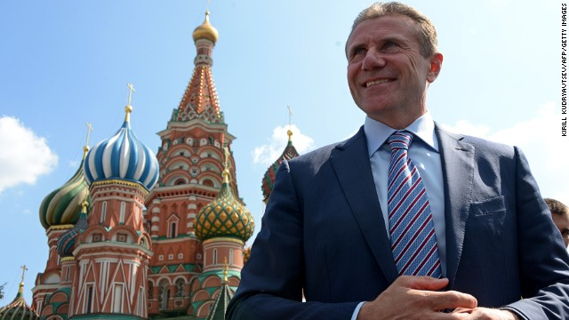 Former pole vaulter Sergei Bubka is running to be president of the International Olympic Committee.