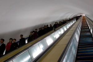 El metro es muy, muy profundo