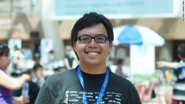Josh Lim of the Philippines is a Wikimedia project lead interested in studying the social relations formed within the Wikipedia community. He said cultural clashes sometimes occur between different demographics of Wikipedia users.