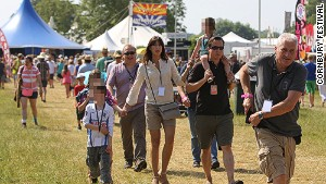 Britain\'s Eton-educated PM David Cameron was spotted -- behind sunglasses -- at Cornbury this year. Could this be the ultimate sign of a non-divey festival?