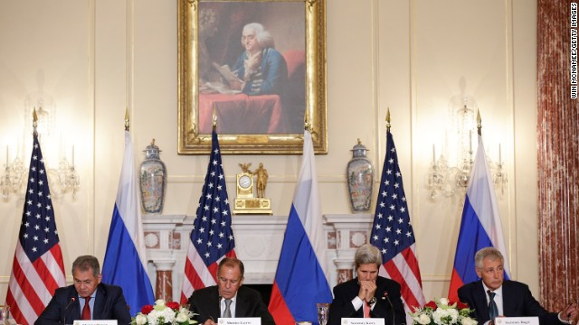 No summit, but U.S. and Russian officials meet