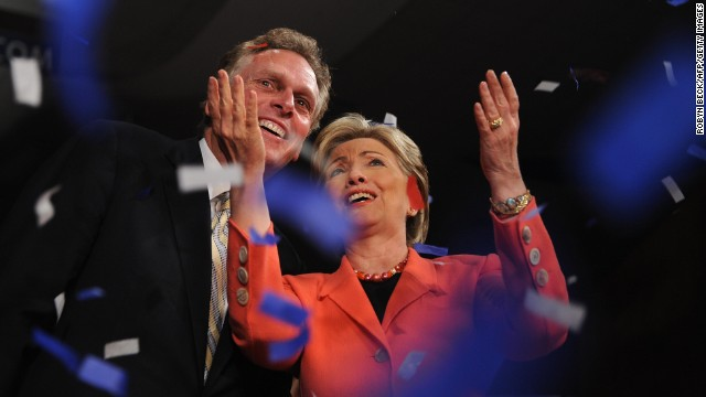 McAuliffe getting big-name outside help in Virginia governor's race