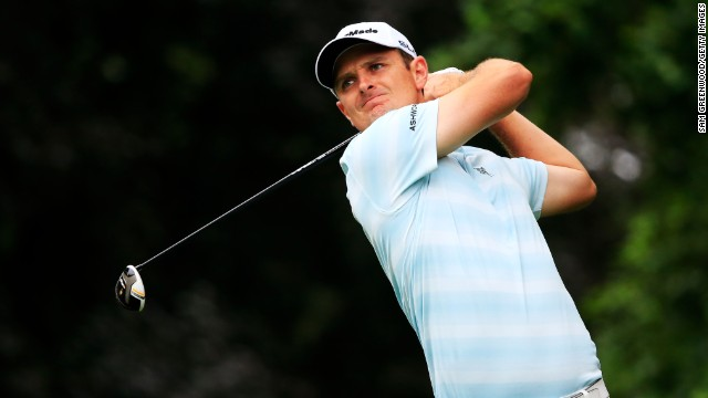 U.S. Open champion Justin Rose stepped up his challenge with a superb second round 66 - coming home with six birdies.
