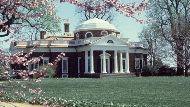 President Thomas Jefferson liked to spend time at Monticello, his home in Virginia. In 1805 he spent nearly four months there, from mid-July until October, while in office.