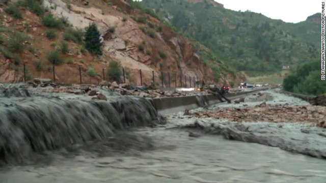 1 dead, 3 missing in Colorado floods