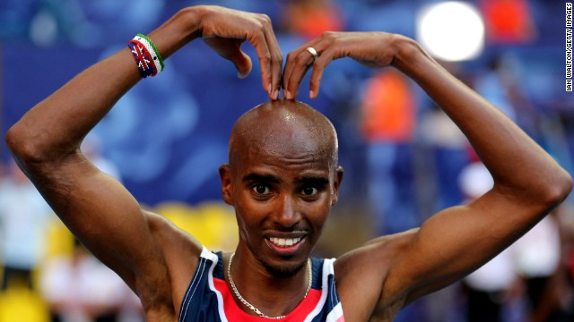 Mo Farah's signature Mobot celebration surfaced after he won gold at the world championships.