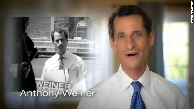 Weiner's first TV ad: 'Powerful voices' against him