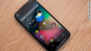 The forthcoming Moto X phone can be operated by voice commands from across the room.