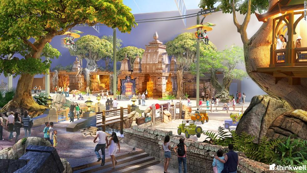 Jurassic Dream, Daqing Dream City, China