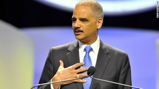 Attorney General Eric Holder, shown speaking in August, said the new sentencing guidelines would