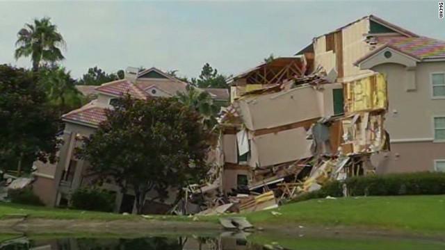 Florida Sinkhole Swallows Parts Of Resort Near Disney