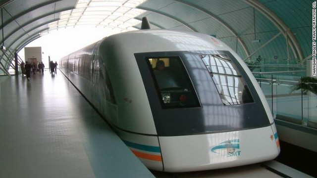 China's Shanhai Maglev train is currently the world's fastest, able to hit 311 mph with a top operating speed of 268 mph. As proposed, the Hyperloop would more than double that speed.