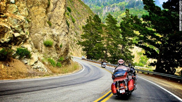Few activities offer the feeling of freedom, speed and adventure than a long trip on a motorcycle. Here are some of the top views to be had while biking the world.