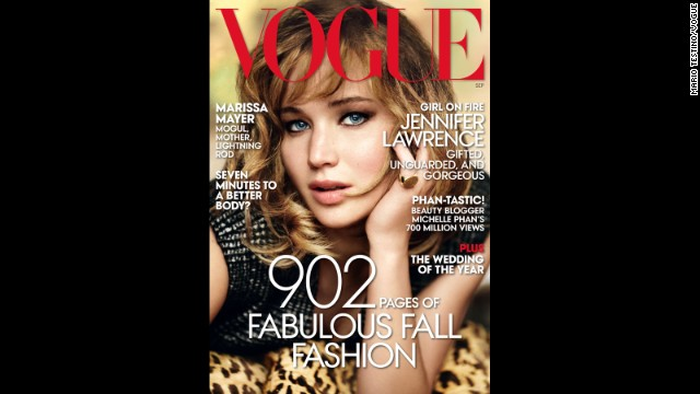 Drinking with Jennifer Lawrence: The best of her Vogue profile