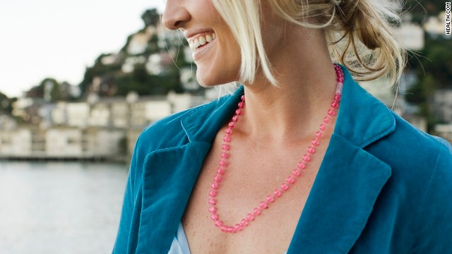 Dangly jewelry that brushes up against your favorite body parts, like a necklace that teases your cleavage can be a turn-on.