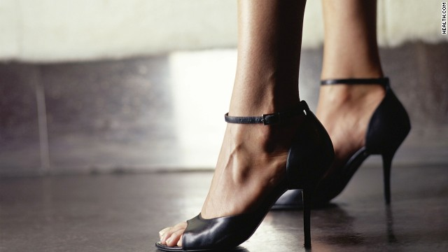Forget the ballet flats -- heels strengthen the muscles of your pelvic floor.