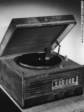 Hey, the portable record player got the job done. It remains a darling of nostalgic collectors though these things are coming back into vogue. Remember: vinyl is never dead.