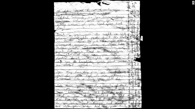 Writings were found in Keyes cell at the time of his suicide on December 2, 2012. Covered in blood and illegible, the writings were sent to an FBI laboratory. The FBI concluded there was no hidden code or message in the writings, nor did they offer any investigative clues or leads as to the identity of other possible victims.
