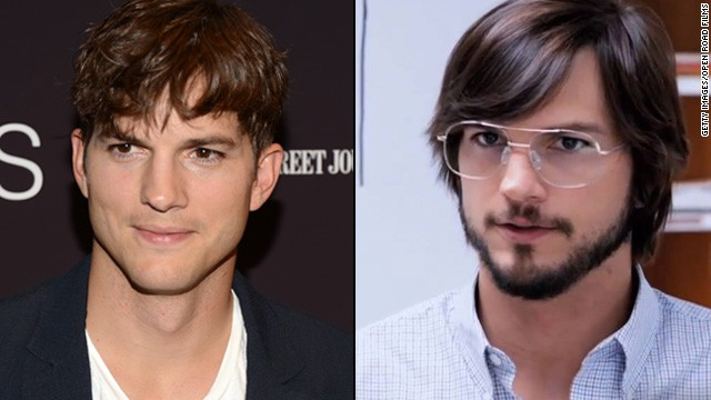 Ashton Kutcher had the good fortune of looking like Steve Jobs' long-lost cousin, so transforming himself into the icon of innovation didn't take much. But it's amazing what the haircut, glasses and beard can do, right?