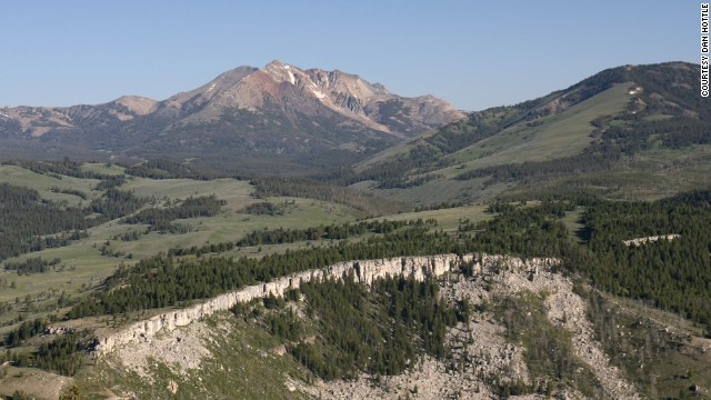 """Hottle recommends that hikers travel in groups of at least three, stay on designated trails, carry bear pepper spray and make noise as they hike to avoid surprising bears (mother bears can attack when surprised). He and his family have hiked """"every inch"""" of Electric Peak, a nearly 11,000-foot mountain."""